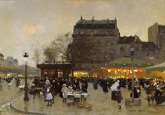 Luigi Loir | Paris Belle Époque painter | Tutt'Art@ | Pittura * Scultura * Poesia * Musica |