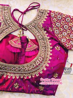 Cutwork Blouse Designs, Wedding Saree Blouse Designs, Fancy Blouse Designs, Dress Designs, Hand Work Blouse Design, Stylish Blouse Design, Traditional Blouse Designs, Couture, Blouse Neck