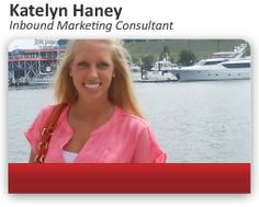 Introducing Katelyn Haney, an Inbound Marketing Consultant who keeps your inbound marketing engagement running on all cylinders so that you generate the most leads -- and customers -- possible.  #InboundMarketing #InboundSales #LeadGeneration