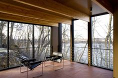 Johnsen Schmaling Architects - Camouflage House, Green Lake, WI