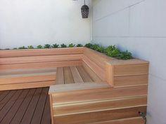 Cedar seating