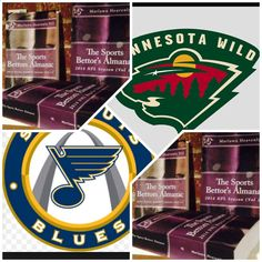 4/16/15 NHL Playoffs: #Minnesota #Wild vs #StLouis #Blues (Take: Wild 135,Over 5.5 Goals) (THIS IS NOT A SPECIAL PICK ) The Sports Bettors Almanac SPORTS BETTING ADVICE On 95% of regular season games ATS including Over/Under 1.) The Sports Bettors Almanac available at www.Amazon.com 2.) Check for updates Marlawn Heavenly VII ( SportyNerd@ymail.com ) #NFL #MLB #NHL #NBA #NCAAB #NCAAF #LasVegas #Football #Basketball #Baseball #Hockey #SBA #Boxing #Business #Entrepreneur #Investing #