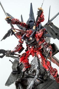 Gundam Astray Destroyfreme by Arlone