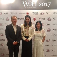 #Spotted - @josootang with founder of @friendsofasiacharity Dr. Caleb Chan and #WOH Art and Culture winner Kristine Li at the Women of Hope 2017 award luncheon. Congratulations to all the award winners who continue to inspire and offer hope to all. @hkahf #HKAHF #HKTatler #spreadhope #giftofhope  via HONG KONG TATLER MAGAZINE OFFICIAL INSTAGRAM - Celebrity  Fashion  Haute Couture  Advertising  Culture  Beauty  Editorial Photography  Magazine Covers  Supermodels  Runway Models