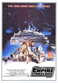 The Empire Strikes Back poster art.