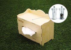 Kleenex Tissue Box Cover Birchplywood - colour : Birchplywood #StyleOC