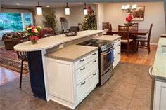 kitchen islands with stoves - Bing images