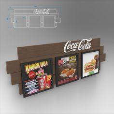 Coca-Cola Combos Diseño de PLV | POP POS Retail Design Coca Cola, Itunes, Signage, Display Stands, Productivity, Products, Point Of Sale, Pos, Coke