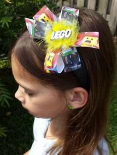 Hey, I found this really awesome Etsy listing at https://www.etsy.com/listing/229223679/lego-movie-glitter-headband-or-bow-ready