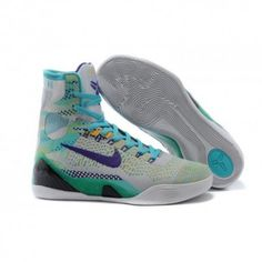 8a94bdd34a6 The cheap Authentic Kobe 9 Elite  Hero  Wolf Grey Court Purple-Sport  Turquoise Shoes factory store are awesome pair of shoes but it seems the  super high top ...