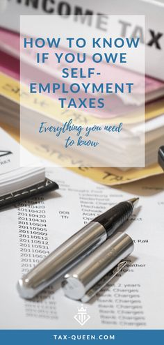 It's important to understand when you do and when you don't owe self-employment taxes. The IRS even has a tool to help you figure out if your income is subject to self-employment taxes or not. Small Business Bookkeeping, Small Business Tax, Income Tax Preparation, Tax Debt, Self Employment, Tax Deductions, Rv Life, Digital Nomad, Boss Babe