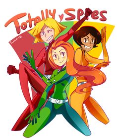 Totally Spies! by Tomoe-chi on @DeviantArt