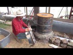 Building a Rocket Mass Heater - YouTube