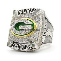 Green Bay Packers 2010 Super Bowl Championship Ring - ChampionshipRingClub.com