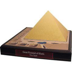 Great Pyramid of Khufu, Egypt,Architecture,Paper Craft,Africa / Middle East,Egypt,Pharaoh,grave,world heritage,Pharaoh Khufu