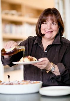 """Dinner party advice - """"I always make a menu,"""" Ina told me, """"and then I look at it and take one thing off. I delete something that we don't need or that is extraneous."""""""