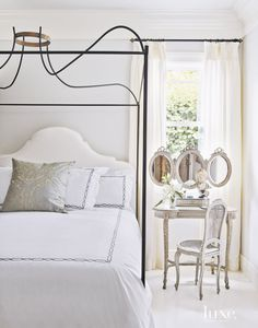 Designers Myra Hoefer and Gina Gattuso brought a glamorous feel to the interiors of a Marin County house.