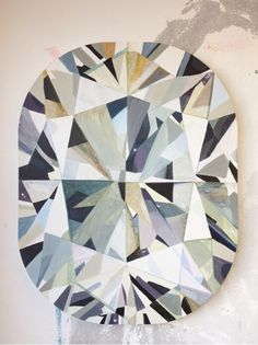 Diamonds Are Forever ~ South African artist Kurt Pio's larger than life diamond paintings.