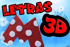 Tutorial ''Letras en 3D de gomaeva''