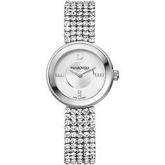 awesome Swarovski Piazza mini mesh watch, Silver just added...
