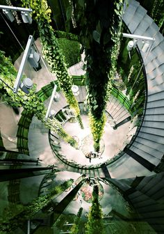 ♂ Green architecture interior design #green #eco #sustainable