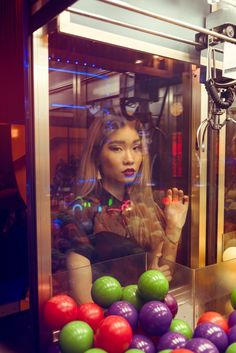 Fashion photography ideas. This shoot was done in collaboration with the model @yunhway. This is an arcade style inspired shoot. #editorial #inspiration #fashion #model #styling #portland #fashionphotographyideas
