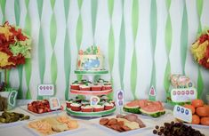 The Hungry Caterpillar Theme First Birthday Party Eric Carl