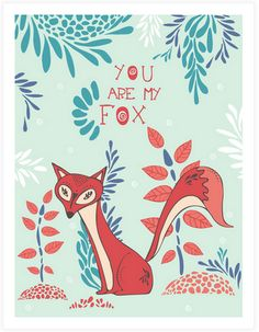 valentine box fox