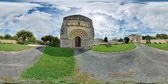 Façade de l'église de Marignac  -  France © Pascal Moulin