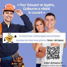 Trouvez un électricien près de chez vous grâce à l'annuaire Inter-Artisans ! https://www.inter-artisans.fr