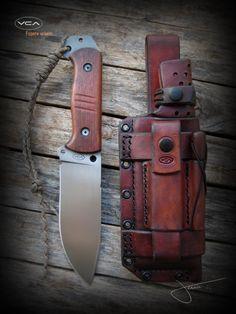 Woodlore I | VCA Knives Portfolio | VCA Custom Knives
