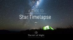 Watch award winning astrophotographer Mark Gee take you through creating a motion star timelapse using Syrp Motion Control gear. If this doesn't make you want to get your camera out for some night time photography, nothing will!