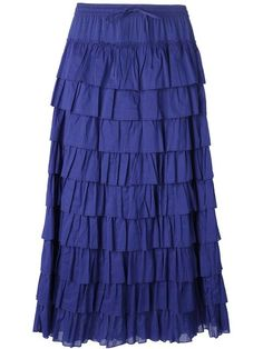 Shop P.A.R.O.S.H. 'Yacot' skirt in Di Pierro from the world's best independent boutiques at farfetch.com. Over 1500 brands from 300 boutiques in one website.
