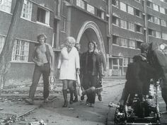 Queenie's Castle (Quarry Hill Flats) a British sitcom set in early featuring Diana Dors. Old Pictures, Old Photos, British Sitcoms, Leeds City, Diana Dors, Haunting Photos, Bus Station, West Yorkshire, My Town