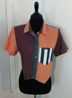 My Sz M Ladies Western Shirt by Rocky Mountain. Size 8 / M for $$36.98: http://www.vinted.com/womens-clothing/crop-tops/21075172-sz-m-ladies-western-shirt.