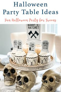 Host a ghoulishly fun Graveyard party for your teens and tweens this Halloween season with inspiration from Everyday Party Magazine and supplies from Big Dot of Happiness #Halloween #GraveyardParty #Sponsored