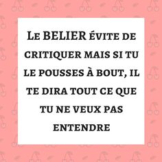 #BELIER #horoscope #astrologie