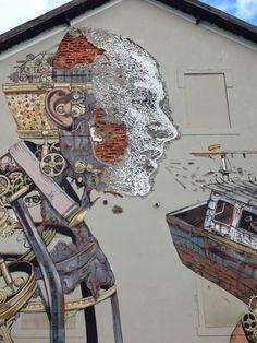 "Artist : Pixel Poncho  Vils   ""Lisbon"" oh sheeeet"