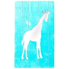 Teal Giraffe Cut-Out Wood Sign   Shop Hobby Lobby. Bought this for the Lil Kids room...