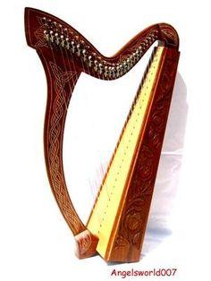 Harpe Celtique Irlandaise 27cordes, nouveau modèle