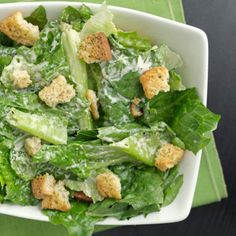 Salad Dressing Recipes: Skinny Caesar Salad Dressing - Shape Magazine