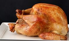 The Golden Rules for Roasting a Turkey- Kitchen Conundrums with Thomas Joseph Thanksgiving Turkey, Thanksgiving Recipes, Holiday Recipes, Holiday Foods, Christmas Recipes, Perfect Roast Turkey, Crispy Onions, Turkey Recipes, Meat Recipes