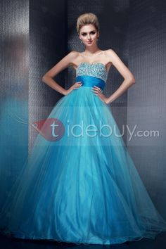 Taidobuyはお客様のために高品質なビーズ Aライン スウィートハート 床までの長さ イブニングプロムドレスを提供いたします。その価格は17018円で買えます。
