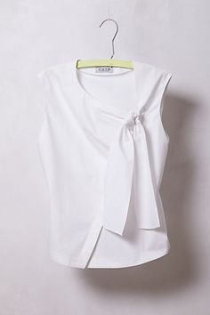 Tractatus Bow Blouse #anthropologie.   The ideal Business Professional blouse.