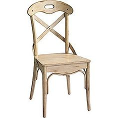 Ivory Curved Back Dining Chair...119.00 Pier 1 Imports......saw them at thrift store.