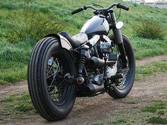 ϟ Hell Kustom ϟ: Harley Davidson By Hide Motorcycle