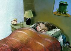 Animation, Graphic Design, Painting, Inspiration, Barcelona, Spain, Faces, Illustrations, Bed