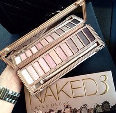 naked 3 palette #urbandecay