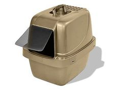 Van Ness CP66 Enclosed Sifting Cat Pan/Litter Box Large Fun Gift!