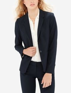 Black Collection Cassidy Bootcut Pants & 2-Button Jacket | Womens' Suits | THE LIMITED